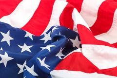 美国旗子被放置作为背景 免版税库存照片