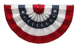 美国旗布 库存照片