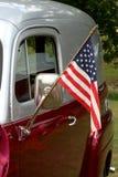 美国旧车改装的高速马力汽车 库存照片