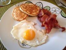 美国早餐 免版税库存照片