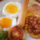 美国早餐 免版税图库摄影