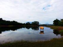美国智利del hotel房子湖国家paine公园pehoe岸南torres 库存照片