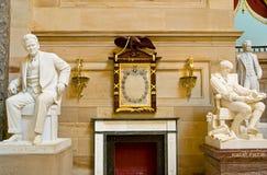 美国有历史的雕象 库存照片