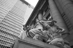 美国本地人历史博物馆  免版税库存照片