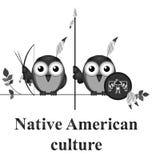 美国本地人文化 库存图片
