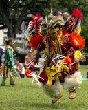 美国本地人舞蹈家 免版税库存图片