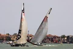 美国杯子S系列威尼斯世界 免版税库存照片