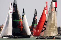 美国杯子S系列威尼斯世界 免版税库存图片