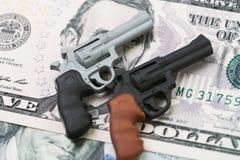 美国枪枝制造业,在ame团结的状态的枪枝管制政策  免版税库存照片