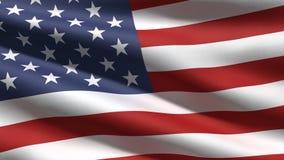 美国标志背景 免版税库存图片