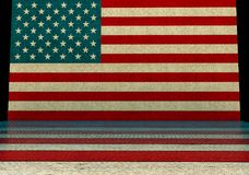 美国样式背景 库存照片
