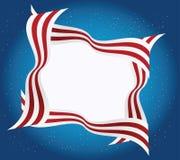 美国框架 免版税库存图片