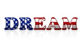 美国梦 免版税库存照片
