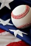 美国棒球消遣 免版税库存照片