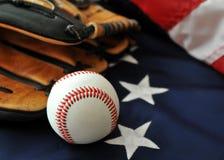 美国棒球passtime 免版税图库摄影