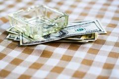 美国概念美元 免版税库存照片