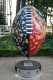 美国橄榄球联盟球游行墨西哥城2017年 免版税图库摄影