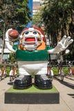 美国橄榄球联盟球游行墨西哥城2017年 库存照片