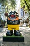 美国橄榄球联盟球游行墨西哥城2017年 库存图片