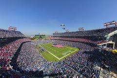 美国橄榄球联盟:10月26日休斯敦德克萨斯人对田纳西巨人 免版税库存照片