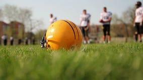 美国橄榄球运动员 股票视频