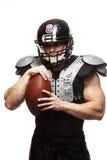 美国橄榄球运动员 免版税图库摄影