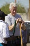 美国比尔・克林顿总统 库存图片