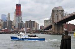 美国水警艇 免版税图库摄影