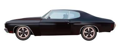 美国汽车肌肉 向量 免版税库存照片