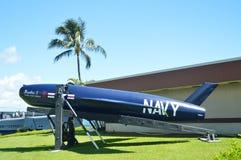 美国海军的鱼雷在纪念USS亚利桑那的 免版税库存照片