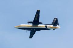 美国海军蓝色天使油脂阿尔伯特 免版税库存照片