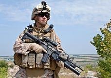 美国海军陆战队员 库存照片