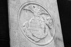 美国海军陆战队封印 免版税库存图片