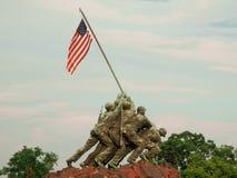 美国海军陆战队战争纪念建筑 库存照片