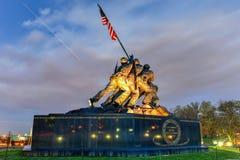 美国海军陆战队战争纪念建筑 库存图片