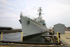 美国海军Destoyer 库存图片