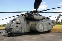 美国海军MH-53海龙直升机 免版税库存图片