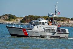 美国海岸警卫队小船 免版税库存照片