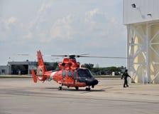 美国海岸警卫队巡逻 库存照片