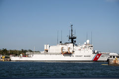 美国海岸警卫队船 库存图片