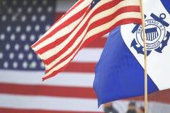 美国海岸警卫队辅助 免版税图库摄影