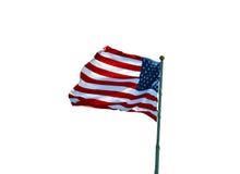 美国爱国心的标志 免版税库存照片