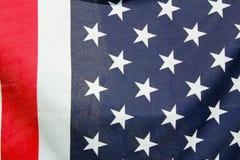 美国特写镜头标志 免版税库存图片