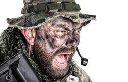 美国特攻队 免版税库存照片