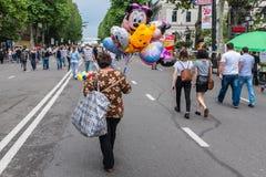 美国独立日假日第比利斯乔治亚 免版税库存照片