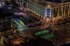 美国独立日在胡志明市,越南, 2016年9月02日 库存照片
