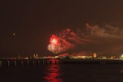 美国独立日在芝加哥 免版税库存图片