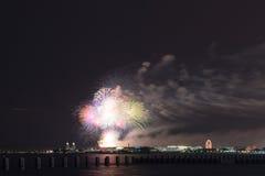 美国独立日在芝加哥 免版税图库摄影
