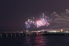 美国独立日在芝加哥 图库摄影