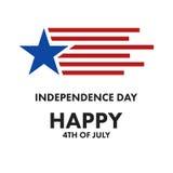 美国独立日庆祝 免版税图库摄影